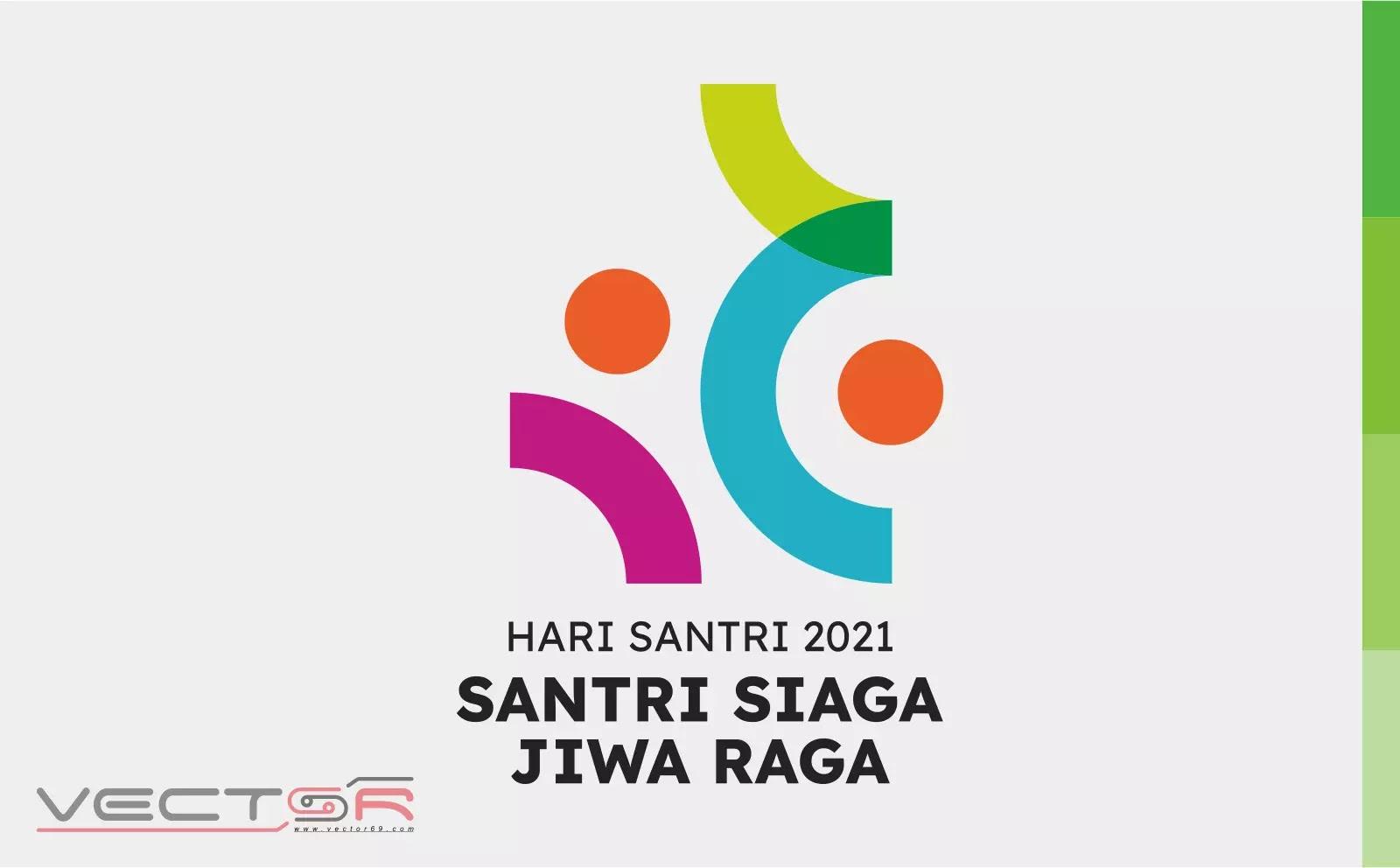 HSN (Hari Santri Nasional) 2021 Kemenag RI Logo - Download Vector File CDR (CorelDraw)