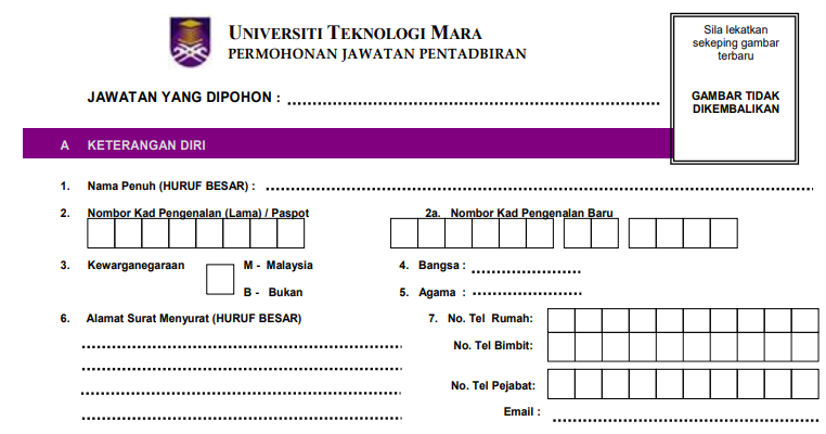 Jawatan Kosong di UiTM Selangor - JOBCARI.COM | JAWATAN ...