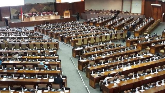 Resmi Dilantik Hari ini 575 Anggota DPR RI untuk Periode 2019-2024