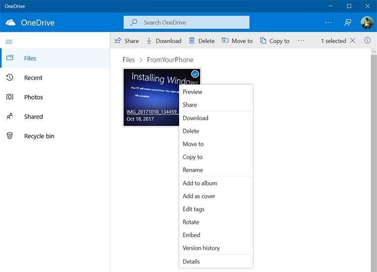 Microsoft Sedang Mengerjakan Aplikasi OneDrive Baru Untuk Windows 10