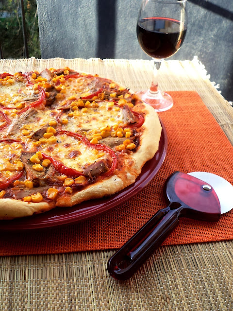 "Entre Tachos e Sabores: ""Comfort Food Bom Petisco""- Pizza"