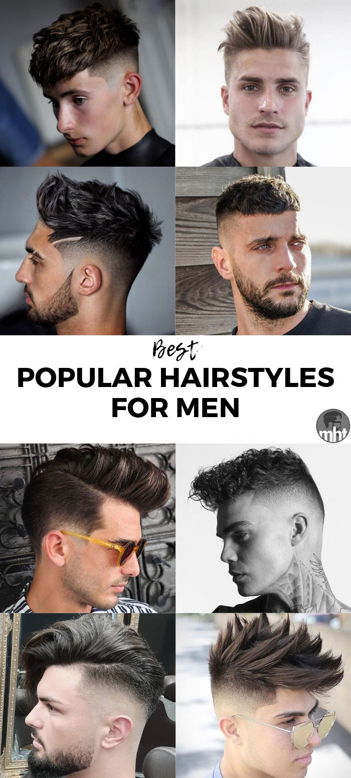 New Look Hairstyle For Men 2019 Men Hair Cuts Ideas