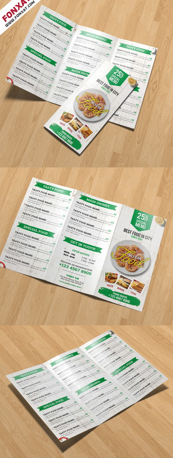 Restaurant-Menu-TriFold-Brochure-PSD-Template