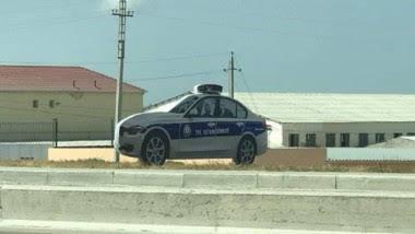Azerbaiyán usa patrulleros a escala de plástico