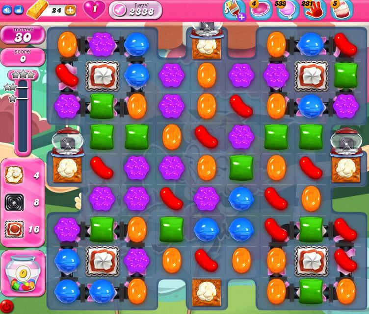 Candy Crush Saga level 2338