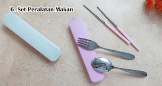 Set Peralatan Makan merupakan Rekomendasi Souvenir Yang Tepat Di Era New Normal