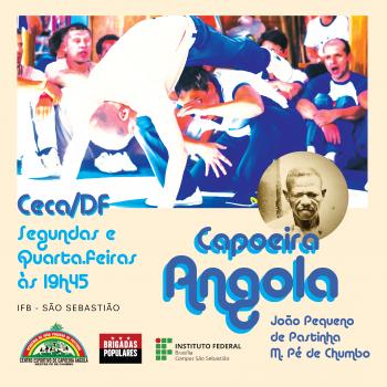 Projeto de extensão Capoeira Angola em São Sebastião traz treinos abertos de capoeira ao campus