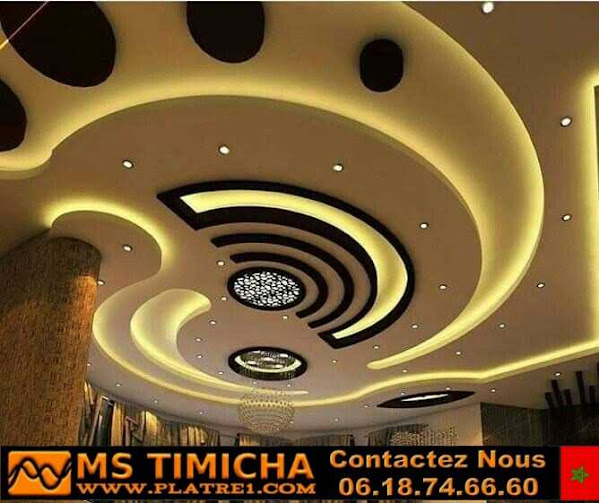 The latest modern gypsum ceiling decoration 2021
