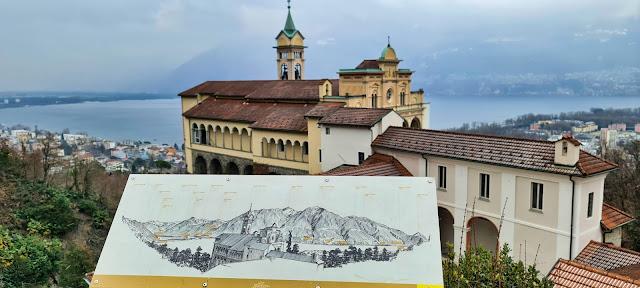 Madonna del Sasso. Najważniejsze Sacro Monte w Locarno.