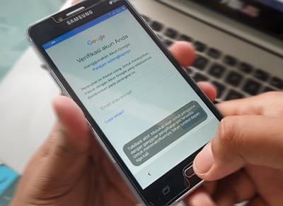Lupa Account Google Samsung J2 Prime