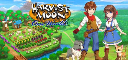 تحميل لعبة Harvest Moon One World