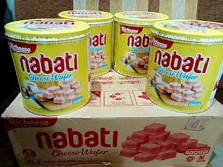 Harga Wafer Nabati Kaleng di Alfamart