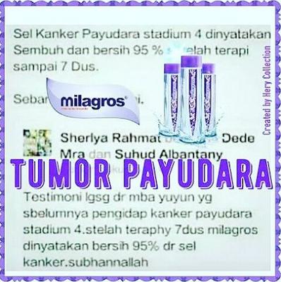 √ Tujuh Rahasia Tentang Kanker Payudara ⭐ Air Milagros