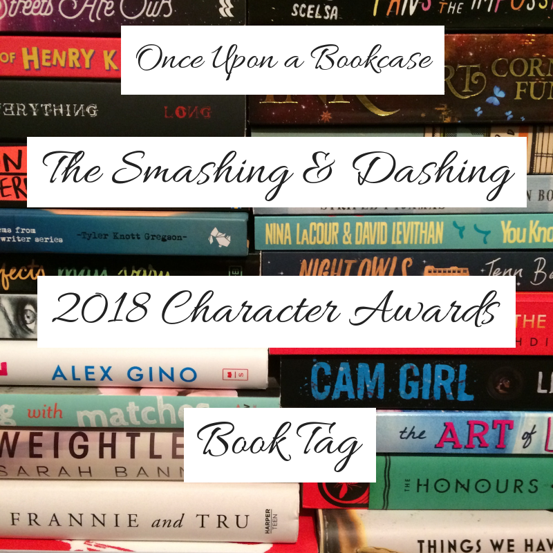 The Smashing & Dashing 2018 Character Awards Book Tag