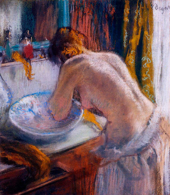 Эдгар Дега - Утренний туалет (1884-1886)