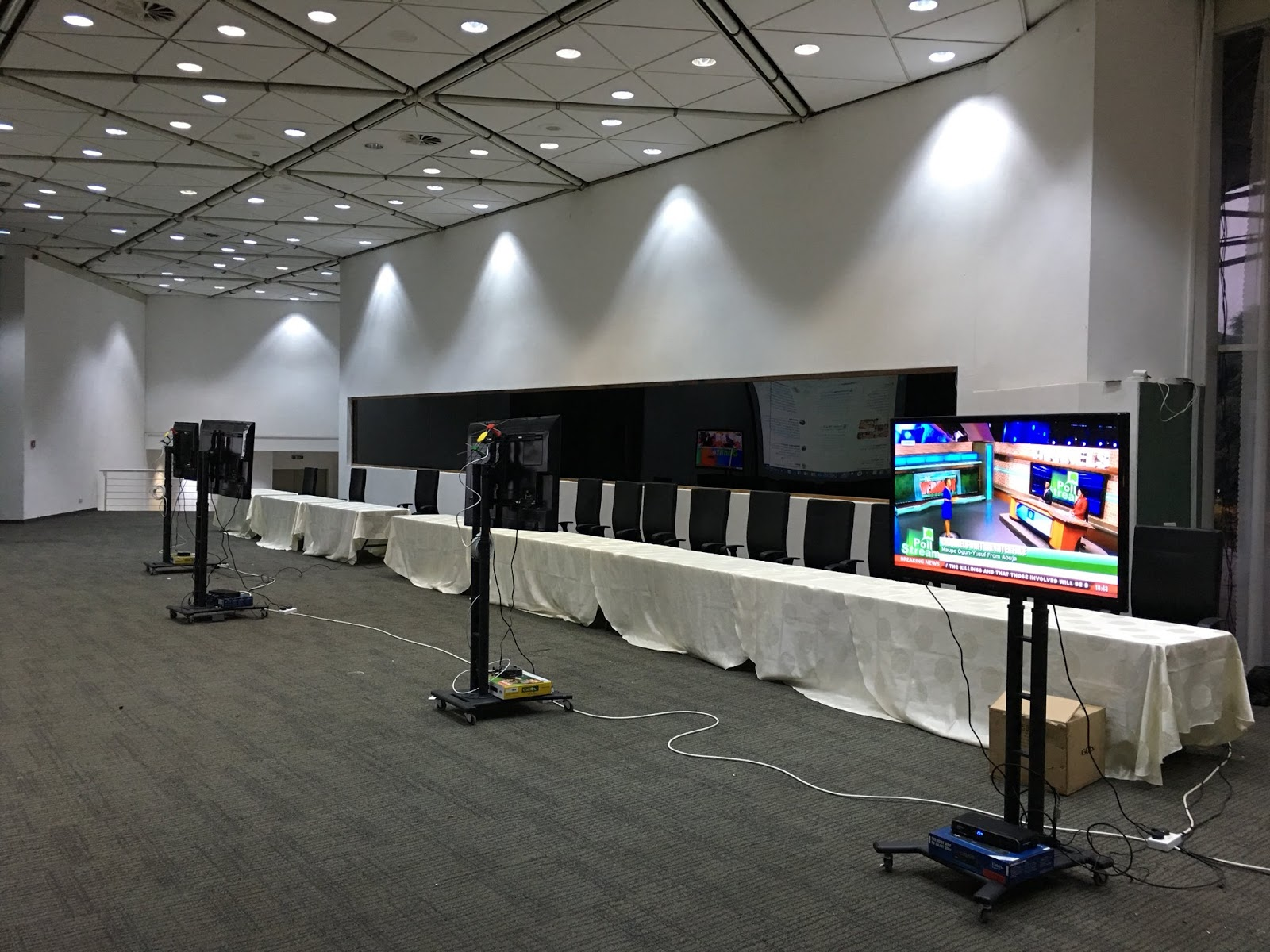 nta unveils new studio as nigeriadecides situation room - HD 1200×900