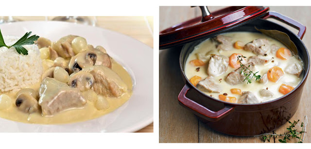 Blanquette de Veau, French gastronomy, french food, traditional food