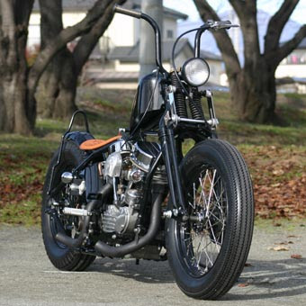 Harley Davidson Panhead 1949 By Runs Motorcycles Hell Kustom
