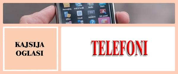 20. TELEFONI - KAJSIJA OGLASI