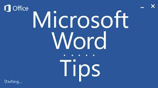 Tips Microsoft Word