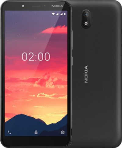 Nokia C2 Unveiled, 4G Support, Android Go with Front-facing Flash