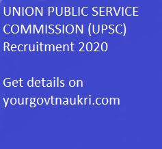 UNION PUBLIC SERVICE COMMISSION (UPSC) Recruitment