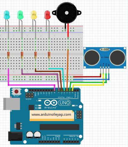 Ultrasonic Module HC-SR04 connect Arduino - YouTube