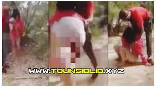(بالصور) يقوم بجرها إلى غابة ثم يشوّه وجهها قبل إغتصابها وسلبها و تصويرها؟