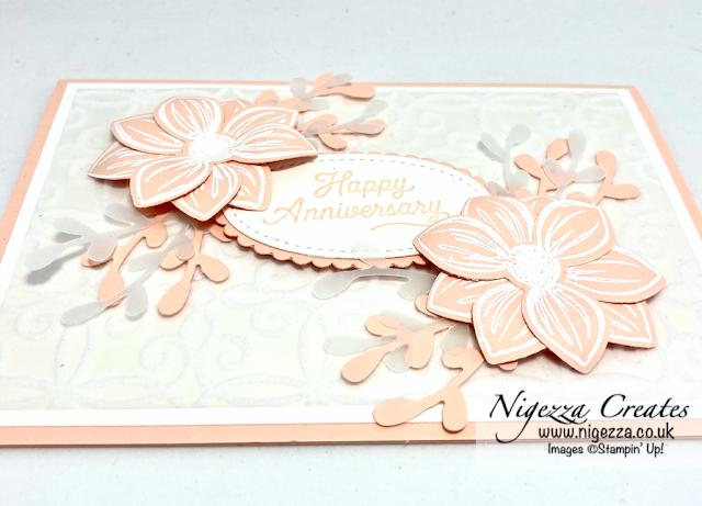 Floral Essence Wedding Anniversary Card