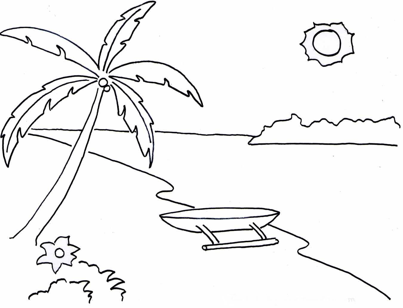 Sketsa Gambar Naturalisme Yang Mudah Sobsketsa