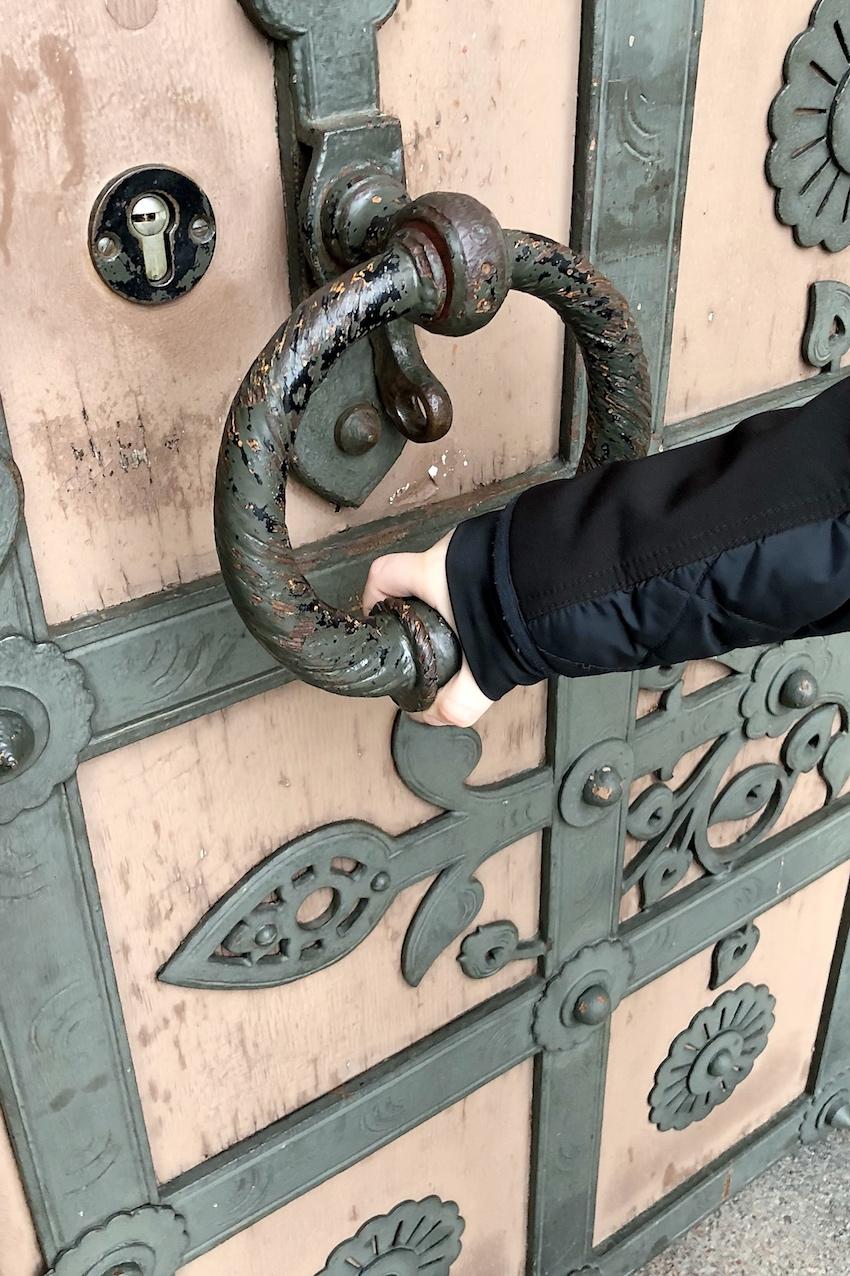 Russlsiche Kapelle Eingang Tür