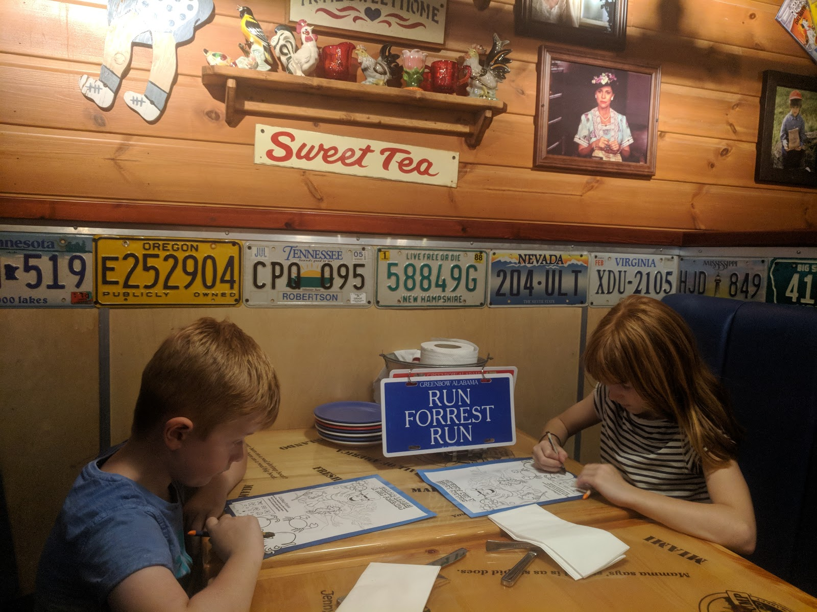 Dining with Kids in London | Bubba Gump Shrimp Leicester Square Review  - kids activity sheet