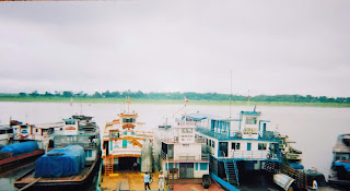 Peruvian river boats at Iquitos