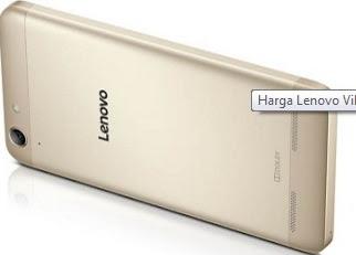 Tampak belakang Lenovo Vibe K5 Plus