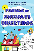 libro para colorear con poemas, elena mayorga