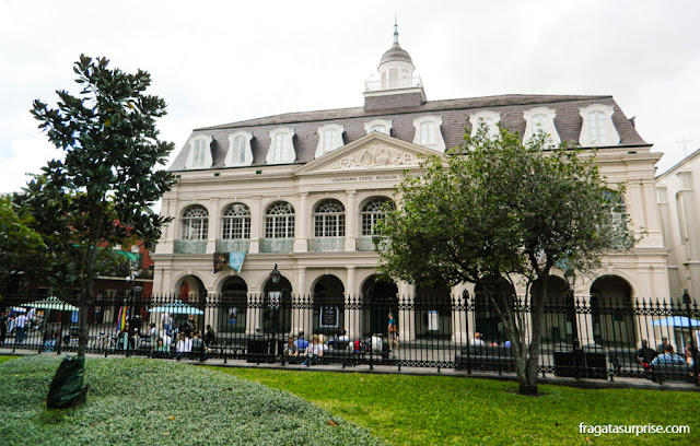 Cabildo de Nova Orleans, no French Quarter