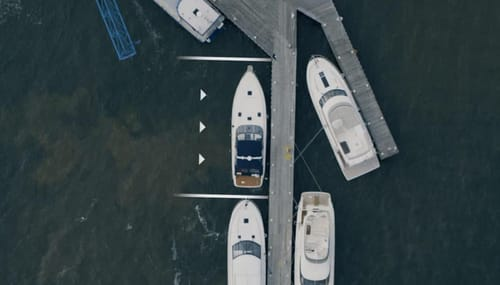Volvo self-docking boat technology has come true