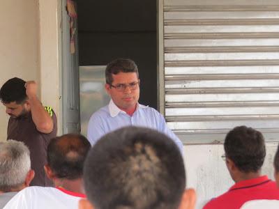 SEM PALAVRA: PREFEITO DR. FRANCISCO NÃO  PERMITE QUE CODEVASF CONSTRUA PONTE NO MUNICÍPIO DEIXANDO MORADORES CONTRARIADOS.