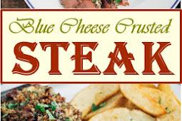 Blue Cheese Crusted Steak