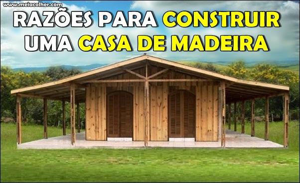 construir casa de madeira