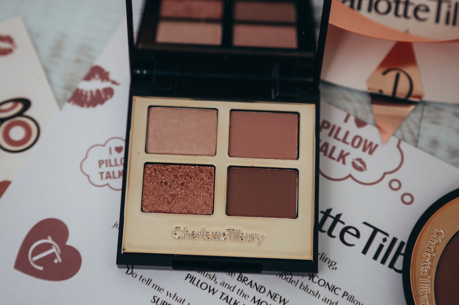 Charlotte Tilbury Pillow Talk Luxury Eye Palette Review