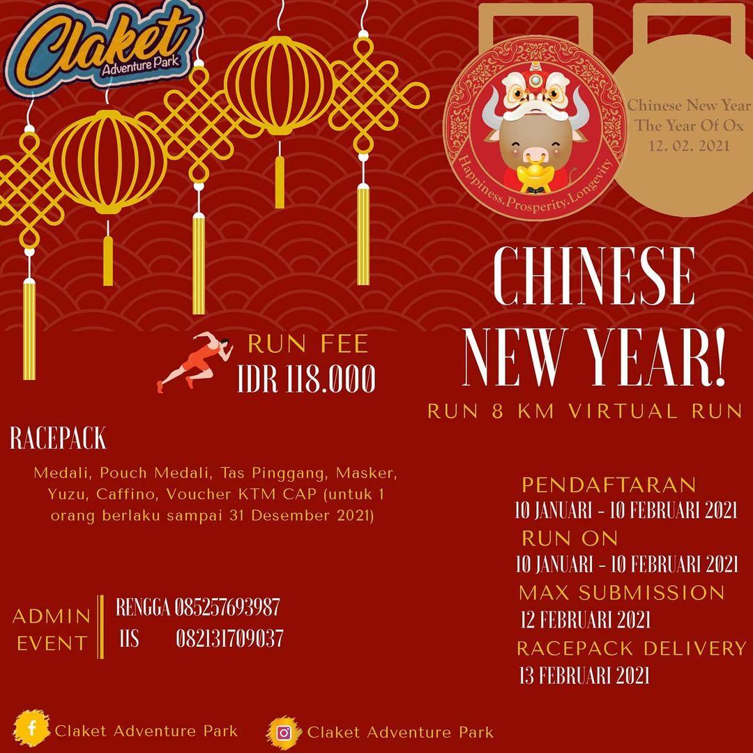 Chinese New Year Run • 2021