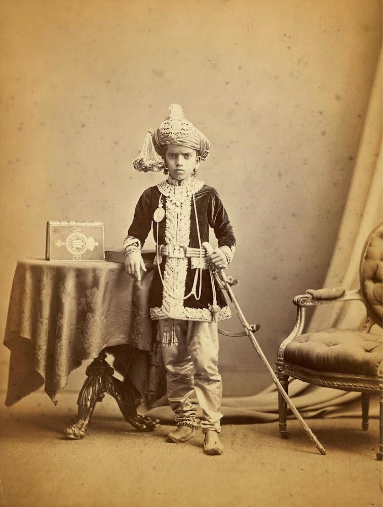 Maharajah Sayaji Rao Gaekwar of Baroda - 1875