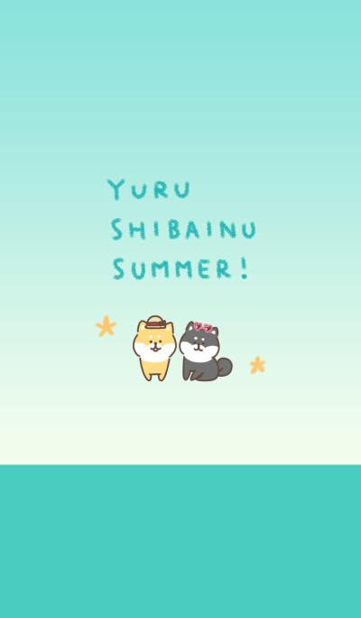 yuru shibainu summer!