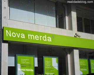 novo banco nova merda