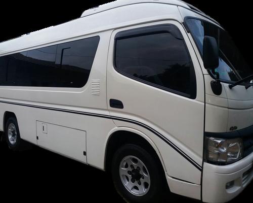 Hiace Semarang Car Rental   LMJ Trans