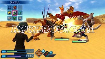 Download Digimon World Re Digitize ISO/CSO Save Data PSP PPSSPP High Compress [English Patch]