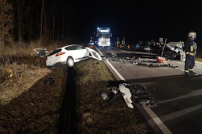 Unfall-Drama auf B184 bei Schora