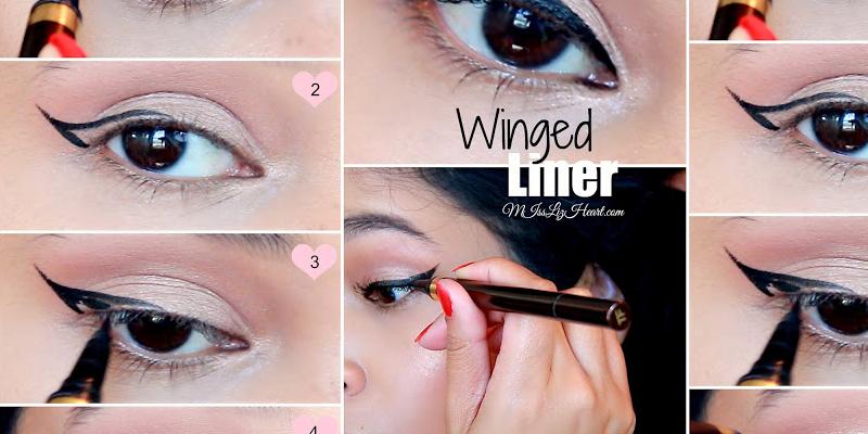 Winged Eyeliner Tutorial For Hooded Eyes Video Style Hunt World