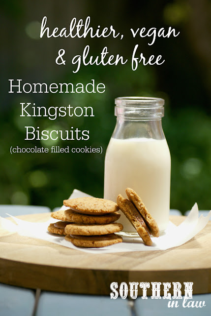 Gluten Free Homemade Kingston Biscuits Recipe - Arnotts Copycat Biscuits, low fat, gluten free, healthy, vegan